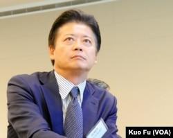 前日本外务大臣玄叶光一郎(美国之音国符拍摄)