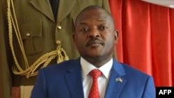 PierreNkurunziza au palais présidentiel à Bujumbura, le 29 juin 2017.
