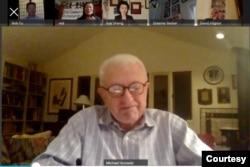 二十一世纪行动总裁迈克尔·霍洛维茨在本次网络会议上