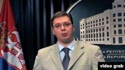 Aleksandar Vučić, potpredsednik vlade Srbije (arhivski snimak)