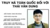 Việt Nam truy nã nhà hoạt động Thái Văn Dung