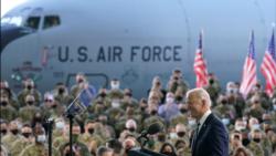 拜登總統抵達歐洲 將與盟國和普京舉行峰會