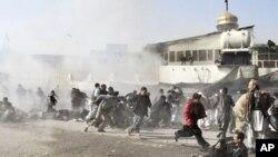 کشته شدن 52 تن در اثر انفجار انتحاری در کابل