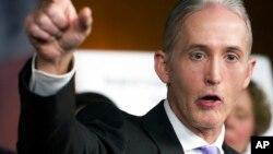 El representante republicano Trey Gowdy, dirigió la comisión investigadora de Bengasi.