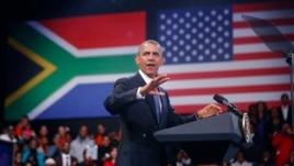 Le président Obama à Soweto