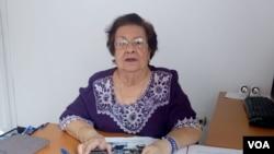 Doctora Vilma Núñez, presidente del CENIDH, el Centro Nicaraguense de Derechos Humanos. Foto: Daliana Ocaña, VOA.