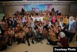 BKKBN menyasar anak muda dalam pertemuan GenRe Fellowship di Semarang (20/8). (Foto: Humas BKKBN)
