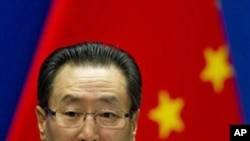 中國外交部副部長武大偉星期天在北京記者會上呼籲召開北韓核項目問題緊急會議
