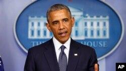 美國總統奧巴馬7月16日在白宮宣布對俄羅斯進一步進行制裁。