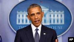 Obama dijo que mantendrá consultas con el Congreso y países aliados para determinar si las negociaciones deban ampliarse.