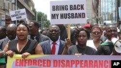 Zimbabwe Missing Activist