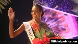 Whitney Houston de Abreu Shikongo, Miss Angola 2015