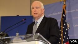 Senator Amerika John McCain (foto: dok).