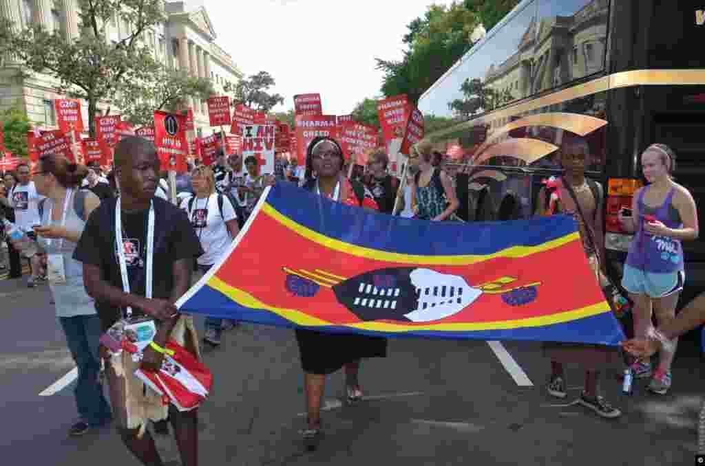 La marcha comenzó en la zona monumental de la ciudad para moverse a la Avenida de Pensilvania hasta llegar al Congreso. ( Foto Juan Moreno).