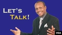 Let's Talk Host Sunday Shomari