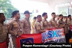 Tim Pendampingan Pemda yang dikirimkan Kemendagri ke Sulawesi Tengah (Courtesy: Puspen Kemendagri)