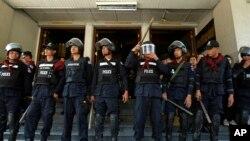 Specijalci na anti-vladinom protestu u Bankoku