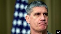 FILE - AFRICOM commander General David Rodriguez