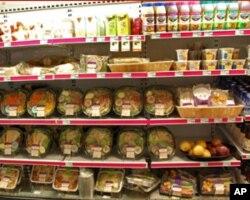 美国农业发达 食品供应丰富