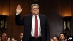 Fiscal general de EE.UU. William Barr, foto de archivo.