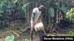 São Tomé e Príncipe, vazamento de gasóleo