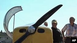 用电池驱动的WAIEX飞机