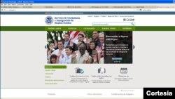 El último rediseño se realizó en 2009 con el propósito de ofrecer una mejor experiencia en línea a los usuarios. [Foto: cortesía USCIS].