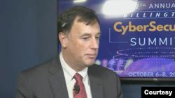 美国国家安全局属下国家网络安全局局长乔伊斯(Rob Joyce)2021年10月6日出席一个行业会议。