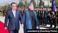 Karzay va Rahmon, Dushanbe, 21-oktabr 2013