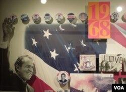 Richard Nixon được bầu làm tổng thống Mỹ năm 1968. Ảnh chụp từ Bảo tàng Tổng thống Richard Nixon ở thành phố Yorba Linda, California (Ảnh: Bùi Văn Phú)
