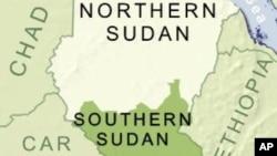 蘇丹地理位置圖