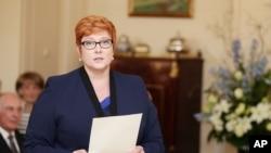 Bộ trưởng Quốc phòng Australia Marise Payne nhấn mạnh Canberra không bị chùn bước trước những lời cảnh cáo của Bắc Kinh.