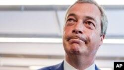 Najdžel Faraž, lider UKIP-a