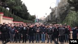 REAL Hərəkatı Şəhidlər Xiyabanında