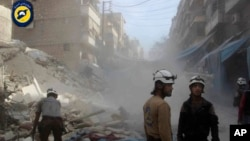 Алеппо, Сирия, 13 октября 2016