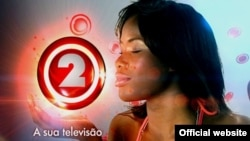 Angola, Logotipo publicidade TPA 2