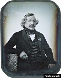 Portrait of Louis Daguerre (public domain)