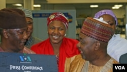 Nigerian Vice President, Namadi Sambo (right)