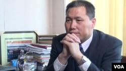 中国维权律师浦志强(美国之音东方拍摄 资料照片)