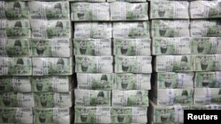 Tiền tại Ngân hàng Hàn Quốc