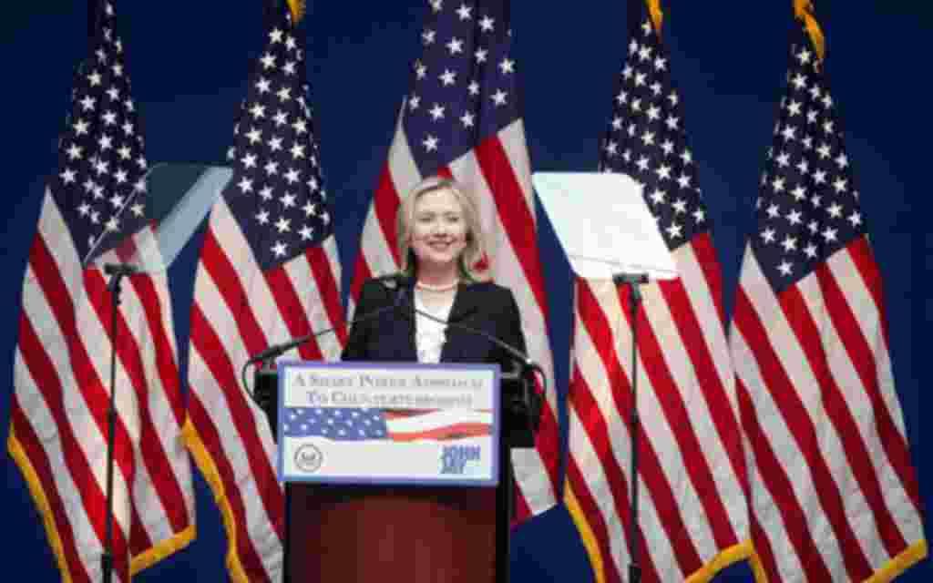 Secretaria de Estado de EE.UU.: Hillary Clinton