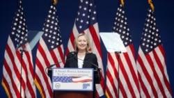 La secretaria de Estado de EE.UU., Hillary Clinton, visita Arabia Saudita.
