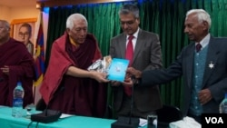 Library of Tibetans Works and Archives felicitates Long Term Tibetan Friend