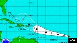 La decimocuarta tormenta tropical se ha formado en las cercanías de cabo Verde y el domingo podría estar llegando a Puerto Rico.