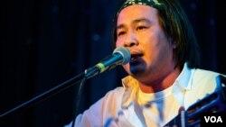 Nhạc sĩ Đức Tiến. (Hình: Chuong Nguyen)