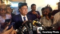 Bangladesh Foreign Minister Dr. A K Abdul Momen