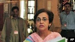 پاکستان کی سیکرٹری خارجہ تہمینہ جنجوعہ