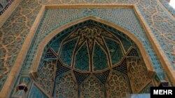 نمایی از مسجد جامع نطنز