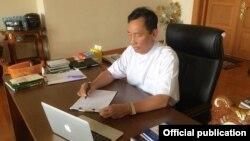 လႊတ္ေတာ္နာယက သူရဦးေရႊမန္း (ဓာတ္ပံု - H.E. Thura U Shwe Mann)
