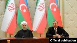 Azərbaycan prezidenti İlham Əliyev və İran prezidenti Həsən Ruhani